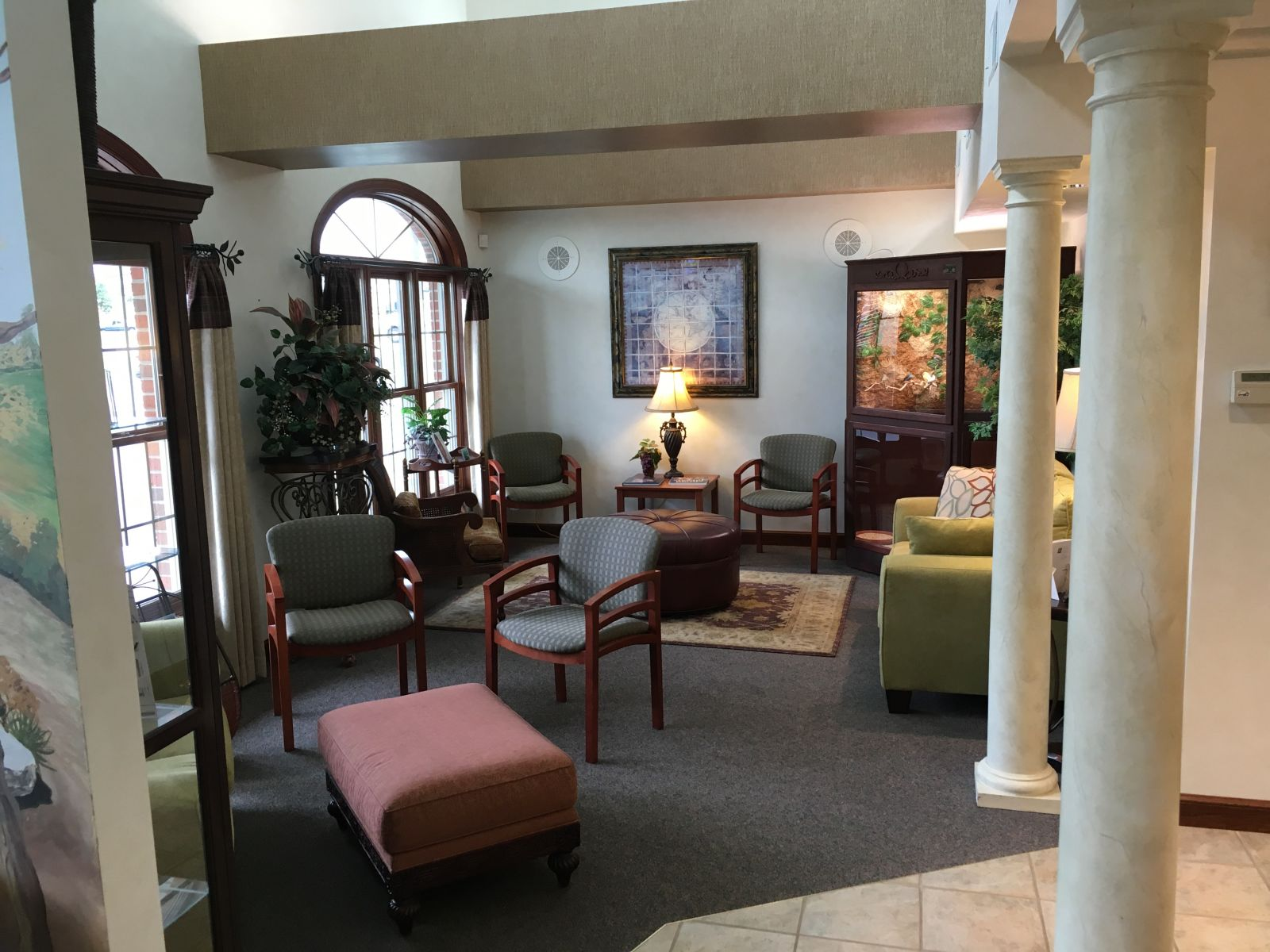 Our Findlay Dental Office Waiting Room